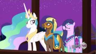 Twilight's show for the Saddle Arabian delegates