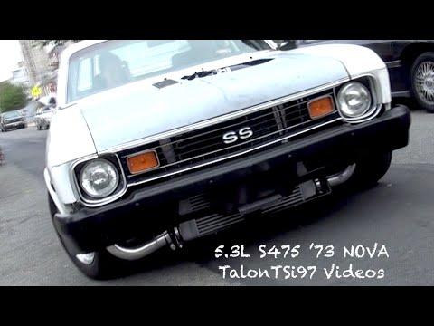 JunkYard Boost! '73 Nova 5.3L S475 Dyno Tune