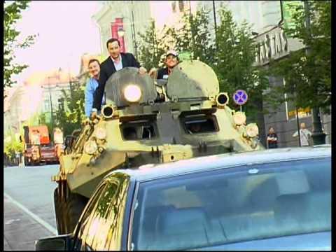 "Мер Вільнюса на БТРі проїхався по ""Мерседесу"""