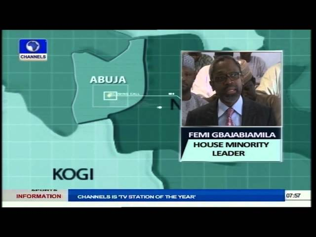 Tambuwal Was Made Speaker By House Members Not PDP - Gbajabiamila Part1