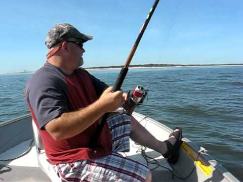 James and JR Fishing - Nassau Sounds