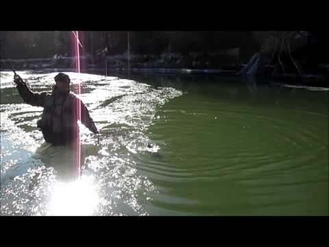 Erie Steelhead Fishing March 18, 2014