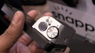 Snappgrip: Turn your iPhone into a Digital Camera - CES 2013