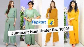 *NEW* Jumpsuits Haul 2019  Flipkart Jumpsuits Unboxing and Review Under 1000  Affordable Jumpsuit