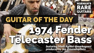 Guitar of the Day: 1974 Fender Telecaster Bass | Norman's Rare Guitars