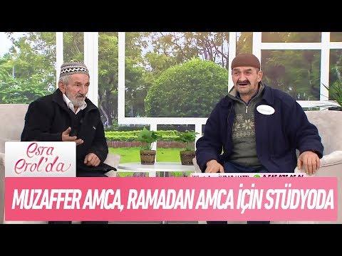 Muzaffer amca , Ramazan amca için stüdyoya geldi! - Esra Erol'da 23 Kasım 2017
