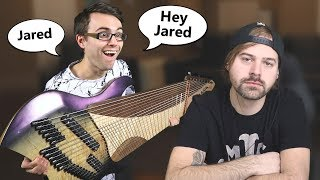 Reacting to Jared Dines Reacting to my 20 STRING!