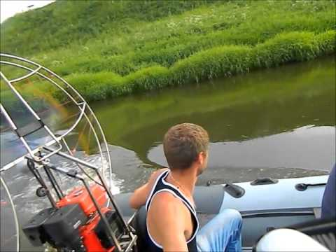 рыбалка на аэролодке