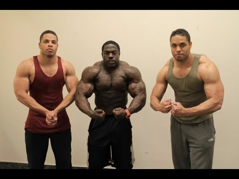 Hodgetwins & Kali Muscle Back Workout