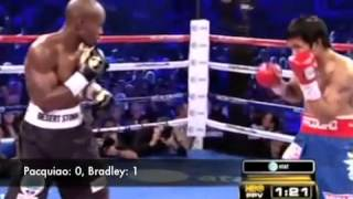 Pacquiao vs Bradley Analysis Round 1