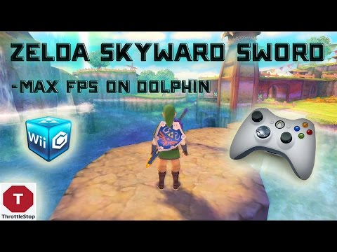Zelda Skyward Sword MAX FPS (Dolphin + ThrottleStop + Xbox 360 Config Download!)