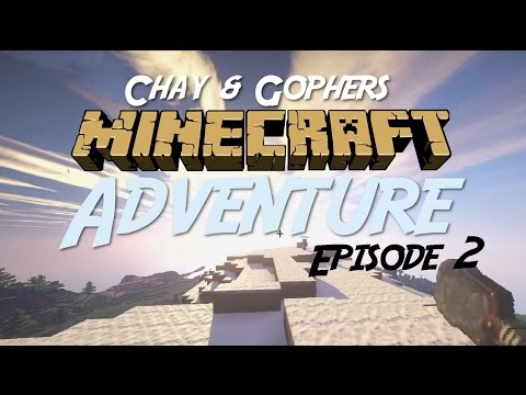 MINECRAFT Adventure #2: Chay & Gopher go mining & discover Australia