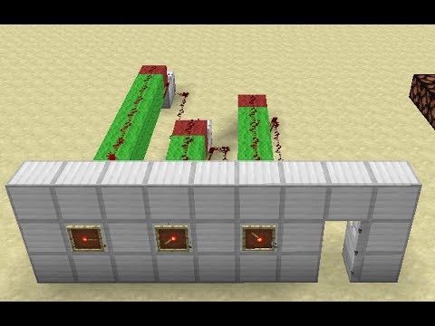 Item Frame Combo Lock Minecraft Tutorial Youtube