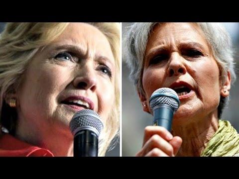 Hillary VS Jill FINAL DEBATE   Election Day Coverage 2016