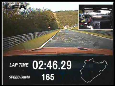 Lexus LFA Nürburgring Edition sets lap time of 7:14