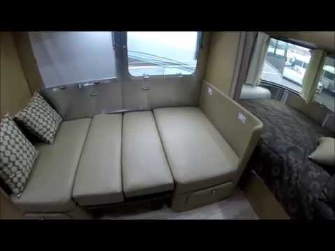 Walk Through 2015 Airstream Flying Cloud 20C Bambi Small Travel Trailer