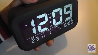 REVIEW: ZHPUAT JFE0135 Large Display Alarm Clock