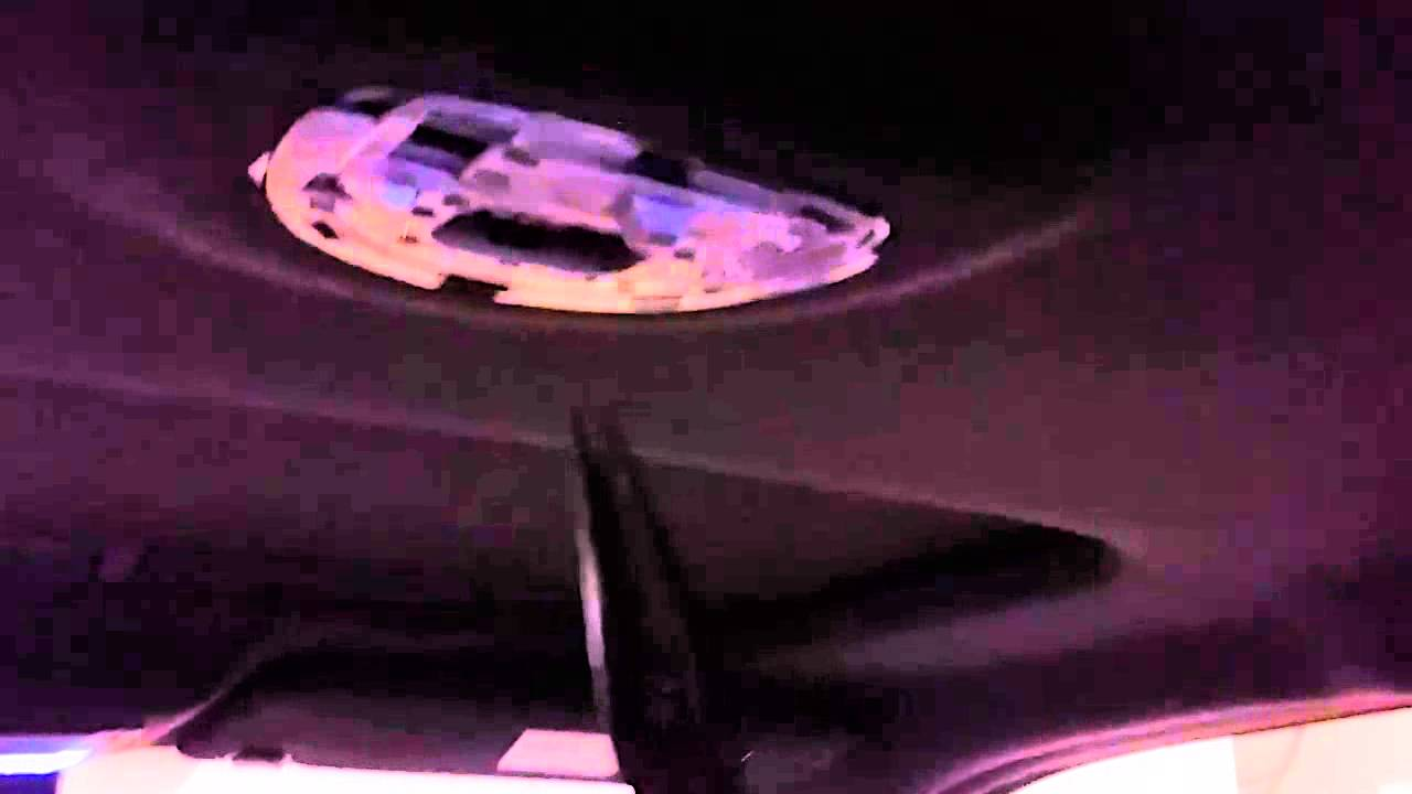 2013 F150 Headlights >> How to remove ford f150 interior dome light & install LED system - YouTube