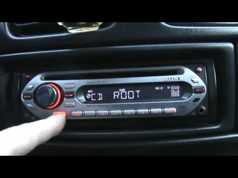 Sony  Xplod CDX-GT200S