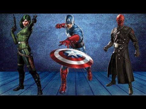 Capitão América Super Soldado: A Primeira Meia Hora