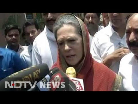 Conspiracy, says Sonia Gandhi after NDTV reports on Robert Vadra inquiry