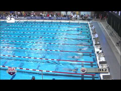 Women's 100m Breaststroke C Final   2012 Columbus Grand Prix