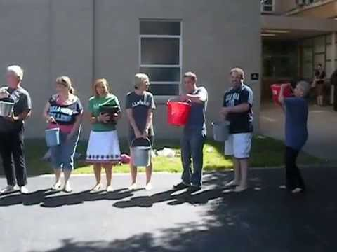 Villa Maria College Art Department Ice Bucket Challenge