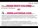 Pat Buchanan On Antiwar Radio Part 5 of 5