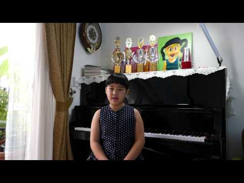 WANG, CHIEH-NING(Personal video) Allianz Junior Music Camp Asia Pacific 2015
