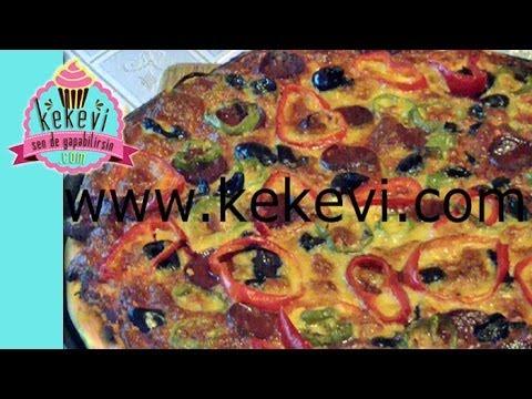 Pizza nasıl yapılır 6 dakikada harika pizza tarifi tum