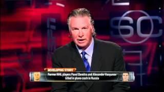 Entire KHL Lokomotiv Yaroslavl Hockey Team Killed In Russian Plane Crash - 9/7/11