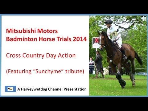 Badminton Horse Trials 2014: 4 Star Cross Country Highlights