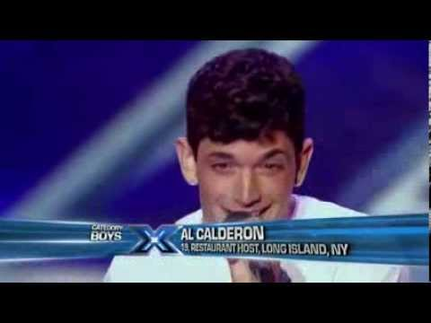 Al Calderon - Sara Smile (The X-Factor USA 2013) [Audition]