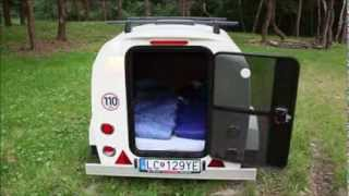 Mini caravane The Splash couchage 2 places , teardrop trailer