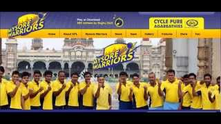 [Mysore Warriors Anthem] Video