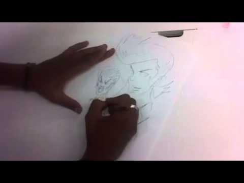 Sketching At Trigger With Hiroyuki Imaishi (Kill La Kill