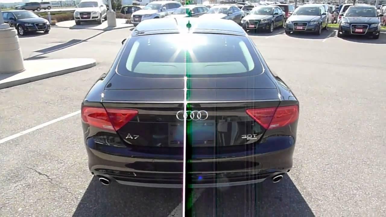 2012 Audi A7 Sportback In Havanna Black Youtube