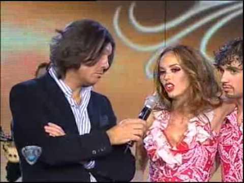 Showmatch 2008 - Gabriela Bo le contesta al jurado