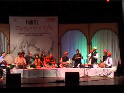 Tasneem-e-Ishq - Sufi Festival by Thinkerz -Chhaap tilak by...