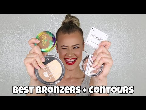 The BEST Drugstore Bronzers + Contour Products