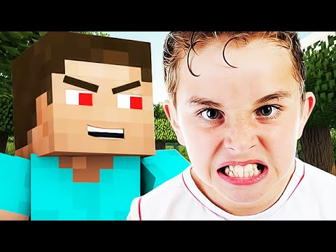 FINDING THE ANGRIEST 7 YEAR OLD EVER ON MINECRAFT - (Minecraft Trolling)