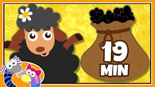 Baa Baa Black Sheep | Nursery Rhymes | Plus Many More Popular Rhymes By Silly Sox