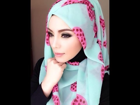 media hijab tutorial jilbab pashmina by arvi