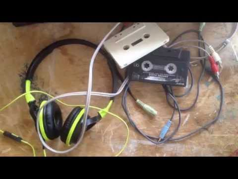 How to record audio to a cassette tape