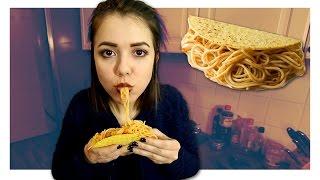 Wie schmecken Spaghetti Tacos aus iCarly?