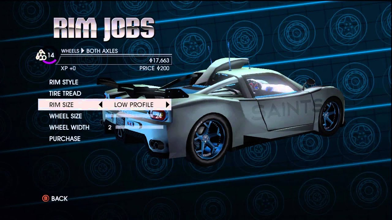 Saints Row  All Cars