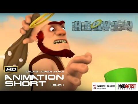 HEAVEN (HD) Really Funny Animated movie by Camilo Guaman (Sketchozine.com Vol.8)