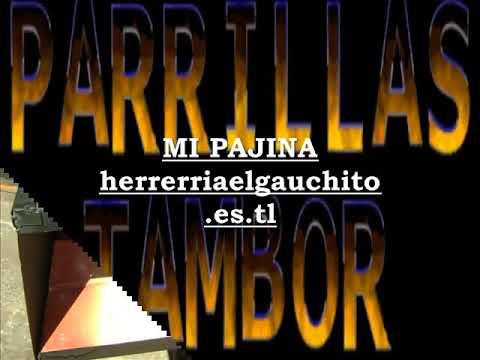PARRILLAS TAMBOR CON TAPA CORREDIZA EL PRECIO MAS BAJO