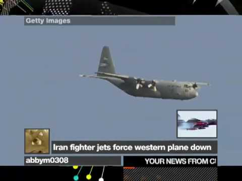Current News: Iran jets force plane down