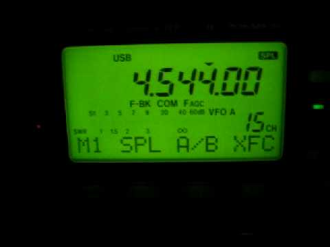 4545 Khz Strange Sweep Signal - Do you hear it too?
